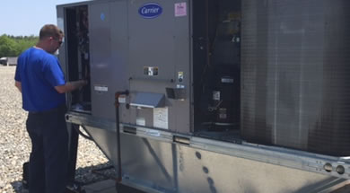 Rooftop hvac units are exposed to harsh weather, ATS will properly maintain these units.
